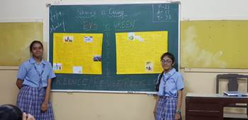 Go green Evs project | St  Agnes' High School
