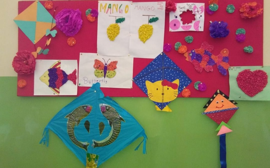 28th AUGUST — FUN WITH KITE PAPER -STD 4